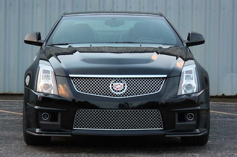 2011 Cadillac CTS-V Coupe review  photos