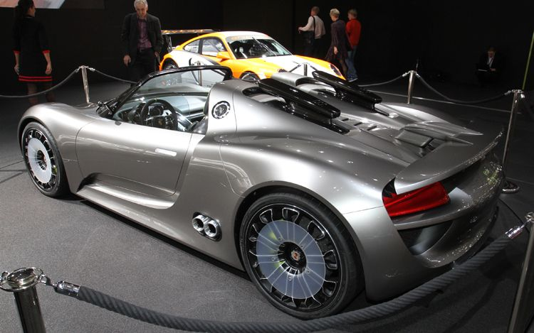 preview 2011 Porsche 918 Spyder hybrid