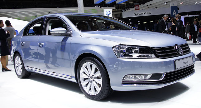 2011 VW Passat Sedan In Paris Auto Show Preview