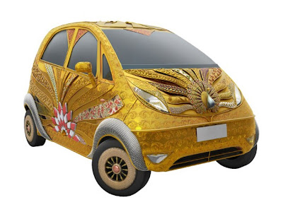 Cars Eleganst: 2012 TATA NANO COVERED WITH PURE GOLD cars ...