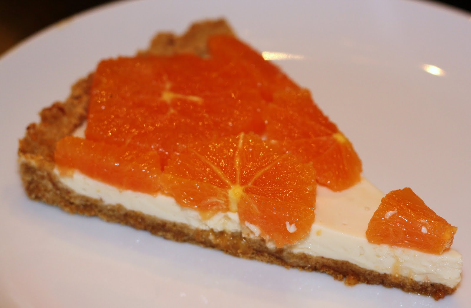 sunday sweets: fresh orange and yogurt tart