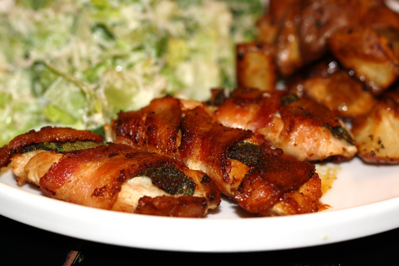what's for dinner?: bacon-wrapped chicken tenders... 20 minutes