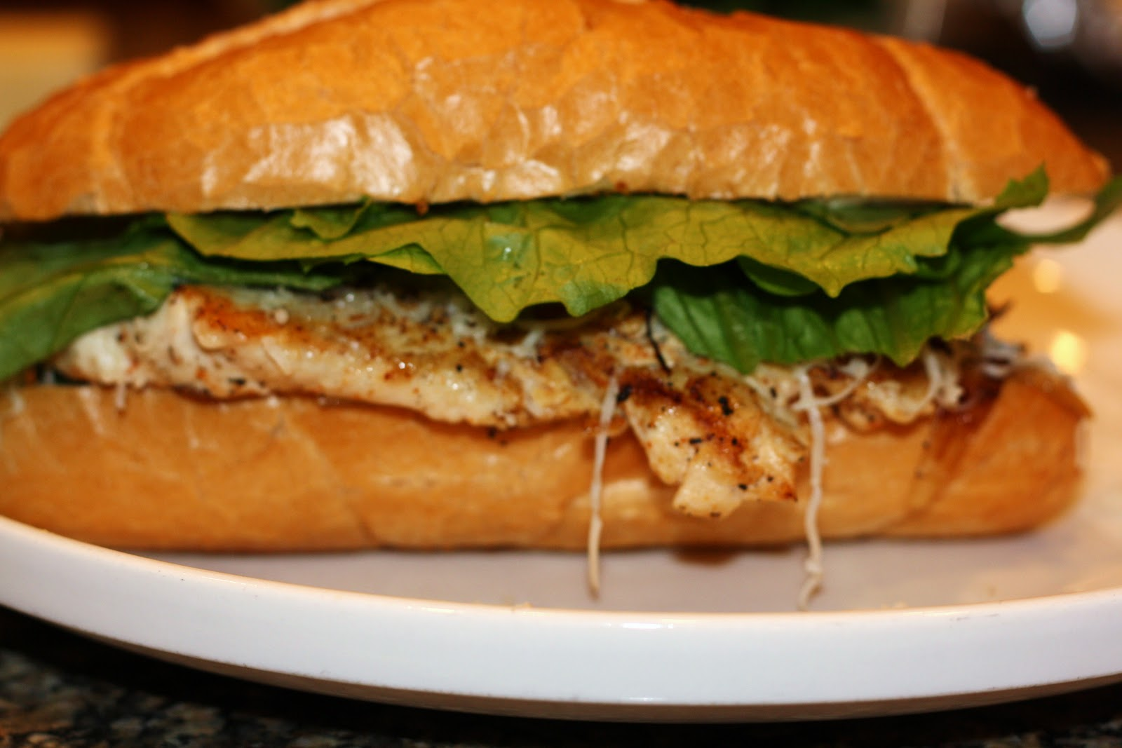 ... ?: chicken sandwiches with white onions and peppers... 20 minutes