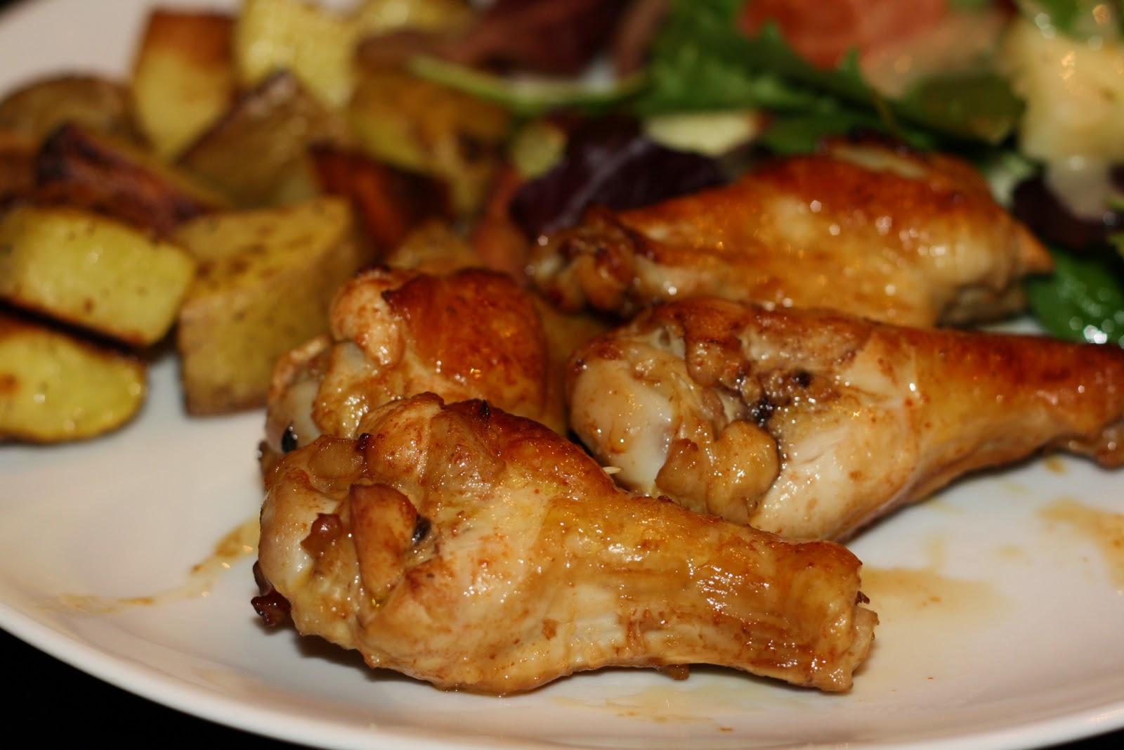 what's for dinner?: sriracha-glazed chicken wings... 35 ...