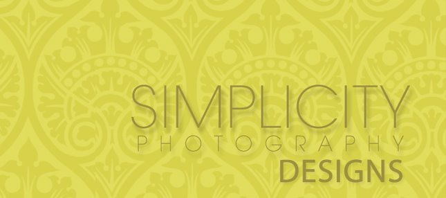 Simplicity Photography Designs