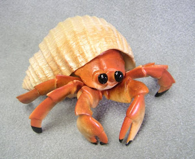 Plastic Hermit Crab