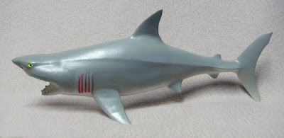 Plastic Great White Shark