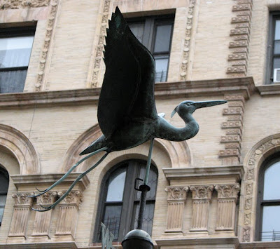 Crane Weather Vane, New York City, NY