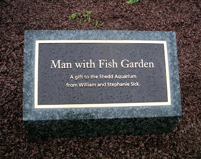 Man with Fish Garden, Chicago, near the Shedd Aquarium
