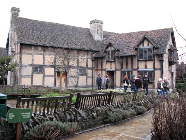 Shakespeare's Birthplace, Stratford-upon-Avon, Warwickshire, England