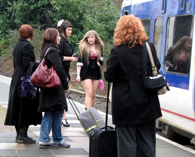Mini Skirts are Back in the English Midlands
