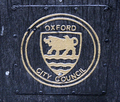 The Oxford Ox, Symbol of the City of Oxford, England