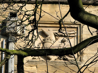 Antelope in Stone, Magdalen College, Oxford, England