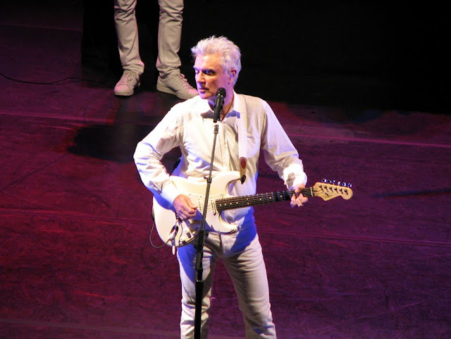 David Byrne in Concert, Seattle, Washington