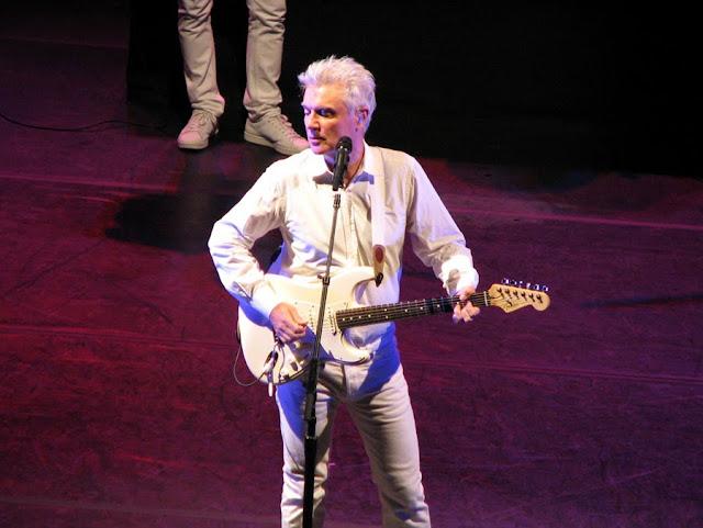 David Byrne in Concert, Seattle, Washington