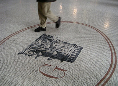 Mosaic Pavement in an Italian Mall, Rome