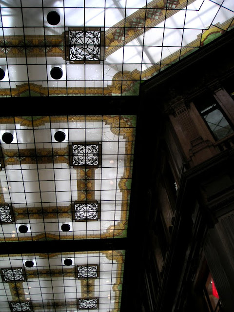 Skylight, Ceiling of a Mall in Rome