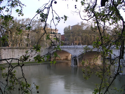 Ponte Regina Margherita - A Bridge over the Tiber River, Rome