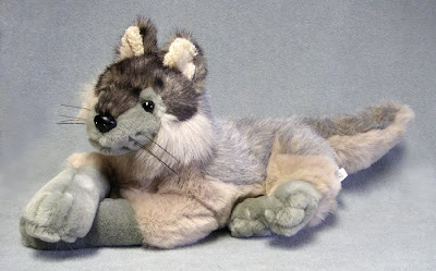 Toy Stuffed Wolf Cub