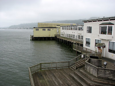 Astora, Oregon, Waterfront from the 6th Street Viewing Platform