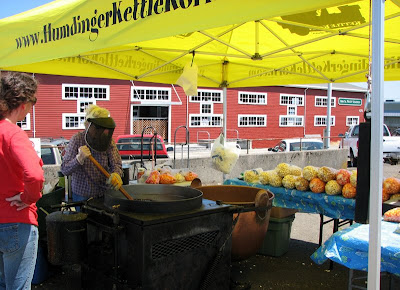 Humdinger Kettlecorn at Astoria, Oregon, Sunday Market