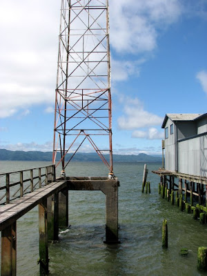 Radio Tower on the Columbia River