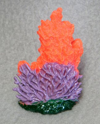 Toy Plastic Coral Replica