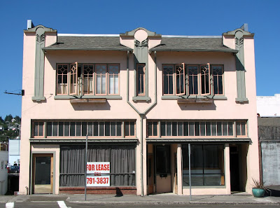 Art Deco/Art Nouveau Building, Astoria, Oregon