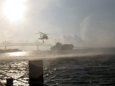 Coast Guard Demo, Astoria, Oregon - Photo by Jamie Schluckebier
