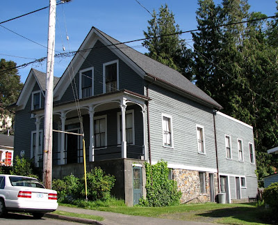 Oldest house in Astoria, Oregon