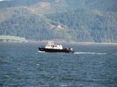 The Hickson, an ocean-going survey vessel home-ported in Astoria, Oregon