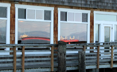 Baked Alaska with Reflected Ships