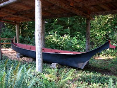 Chinook Indian Ocean-going Canoe