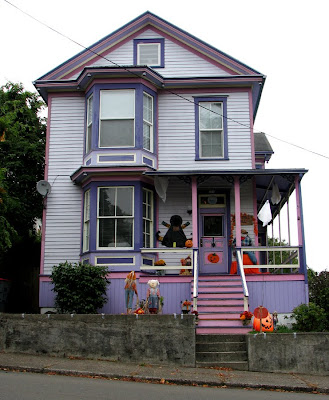 Halloween House, Astoria, Oregon