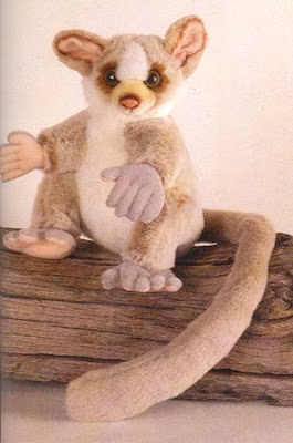 Stuffed Bushbaby Toy Primate