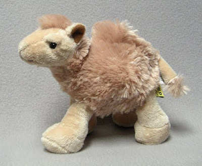 Stuffed Camel Finger Puppet