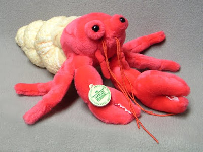 Stuffed Plush Toy Hermit Crab
