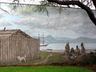 Fort Astoria Mural