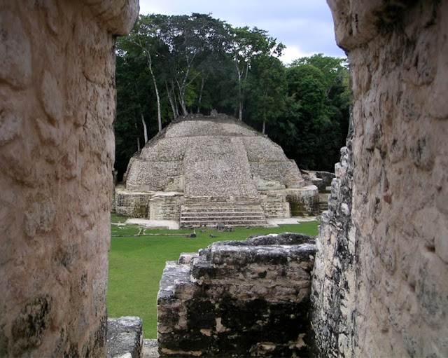 Mayan Ruins at Caracol, Belize