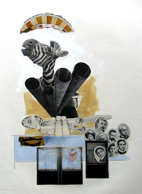 Collage, Zebra Arcade, 1979