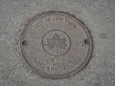 Manhole Cover, NYC