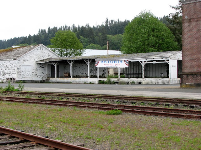 Old Train Station, Astoria, Oregon