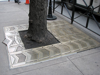 Art Deco Tree Grating, New York, Fifth Avenue