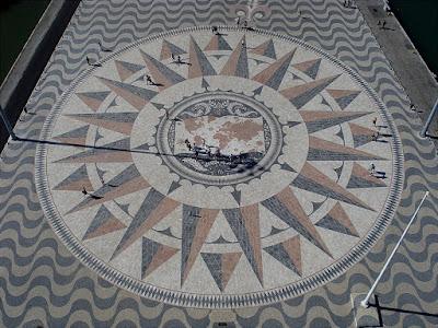 Compass Rose, Oeiras, Portugal