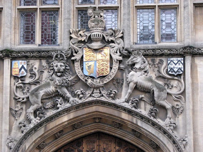 Lion and Unicorn, Brasenose College, Oxford