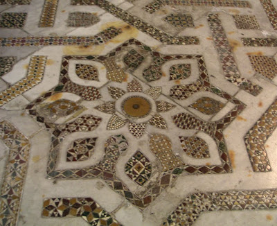 A mosaic star at Monreale