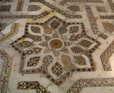 A mosaic star at Monreale