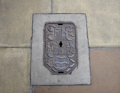 Metal Drain Cover, London