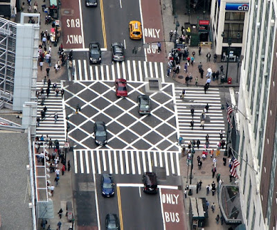 Intersection from the Empire State Building