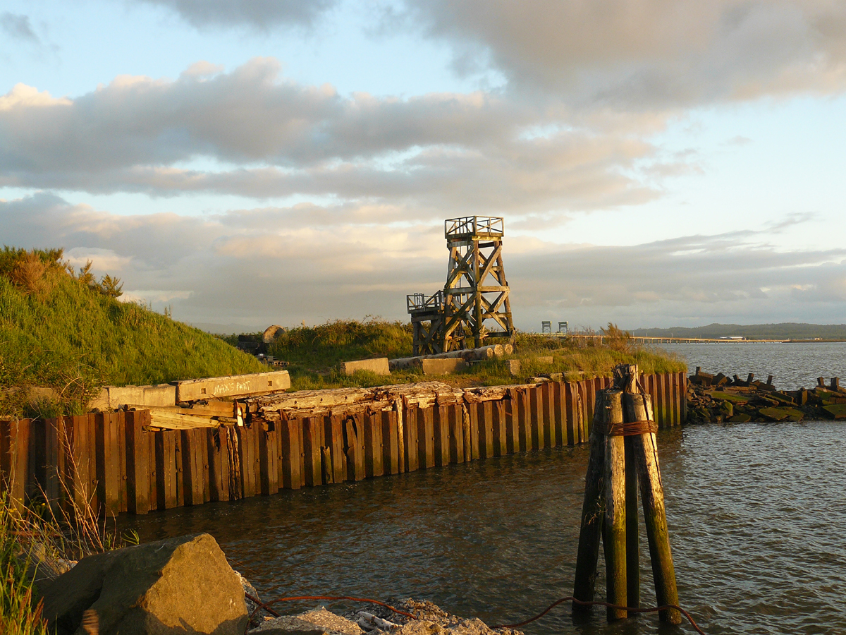 Tower on the Columbia River